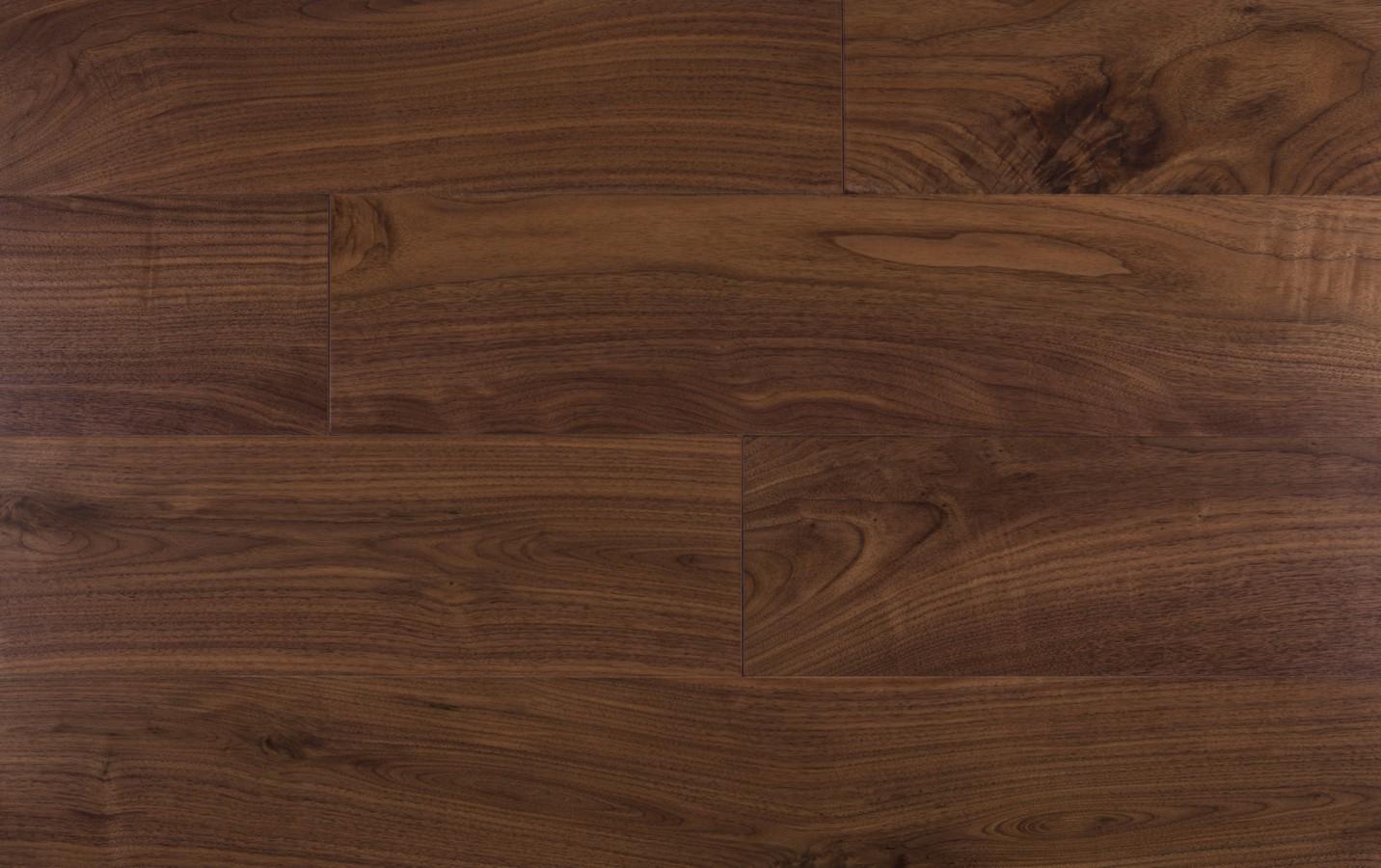 American Walnut, Solid parquet Natur, Varnished 2