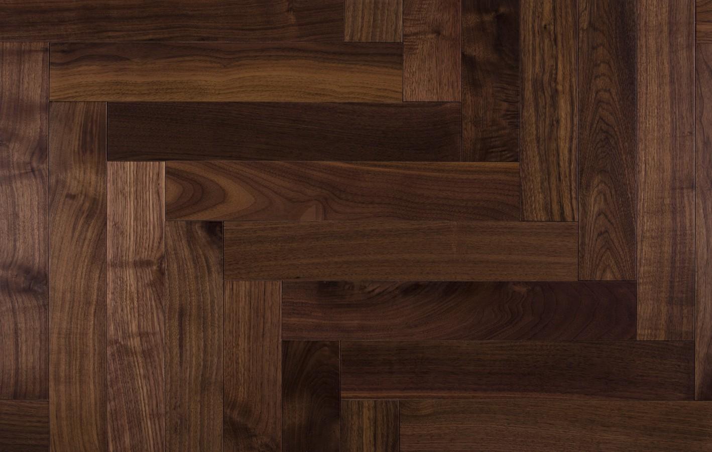 American Walnut, Solid parquet Natur, Varnished 3